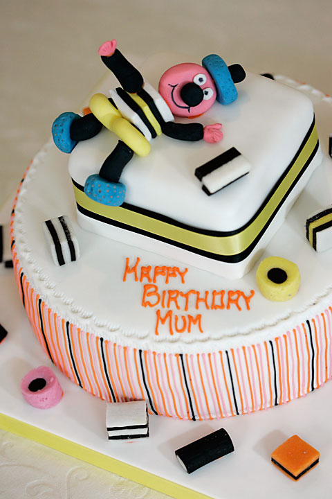 Bertie Bassett Celebration Cake